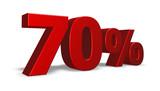 seventy per cent