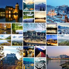 Salzburg - Collage