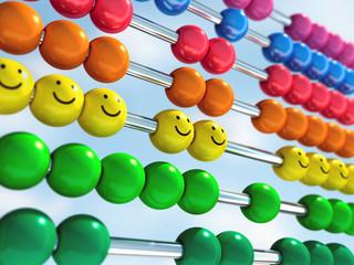Abacus mit Smileys