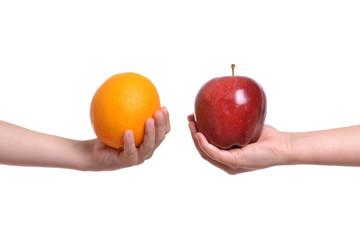 Apple to Orange