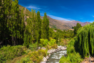 San Jose de Maipo in Chile, South America