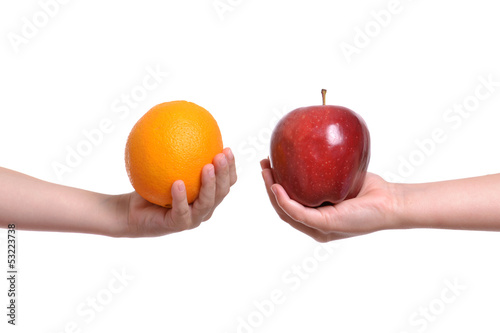 Apple to Orange