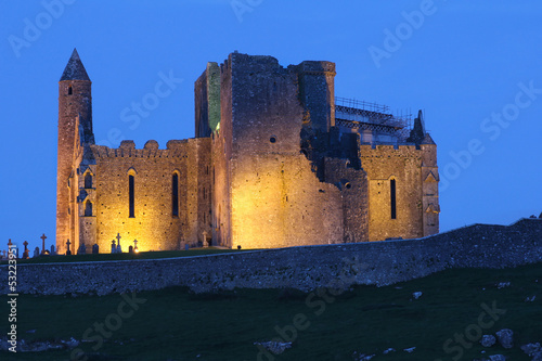 Cashel Rock in Ireland