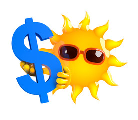 Sunshine and the US Dollar