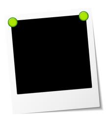 Polaroid Green Magnets