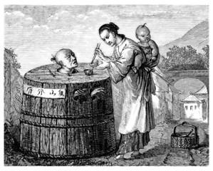 Chinese Punishment : the Cangue