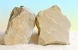 Zwei Kalksteine