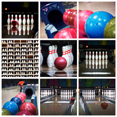 Collage bowling