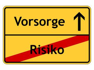 Keine Vorsorge ist ein Risiko!