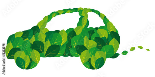 Environmental Green Car