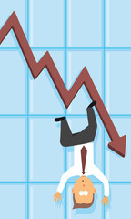 Economic depression / Falling business