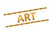 canvas print picture - Art - Kunstaustellung...