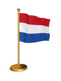 Flag of Netherlands.