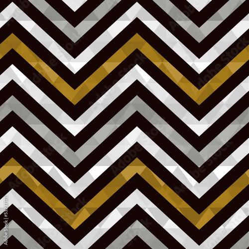 seamless gold zig zag pattern - 53237171