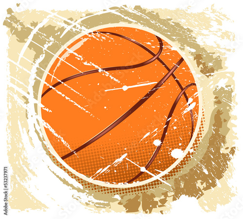 abstarct basketball