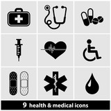 Health & Medical Icon Set