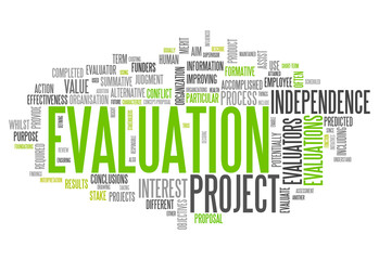 "Word Cloud ""Evaluation"""