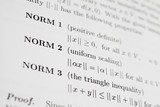 Math Expression About Norms