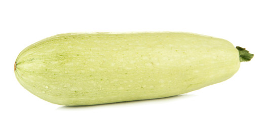 Fresh marrow, isolated on white