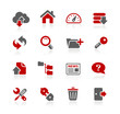 FTP & Hosting Icons -- Redico Series