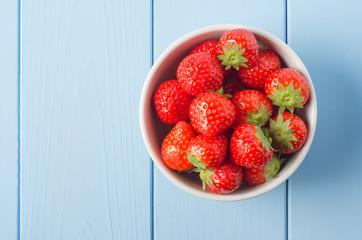 Strawberry Bowl Overhead
