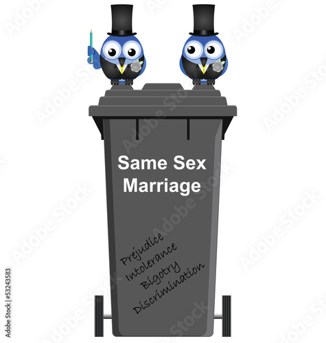intolerance towards same sex marriage