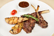 Grilled Lamb on the bone