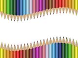Fototapety Matite colorate set 3