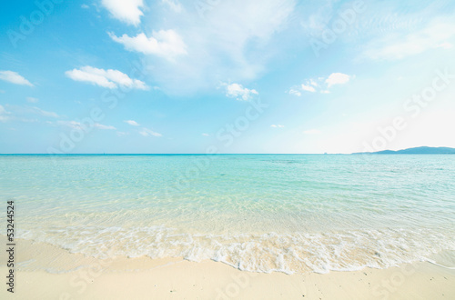 Foto op Plexiglas Water 沖縄のビーチ
