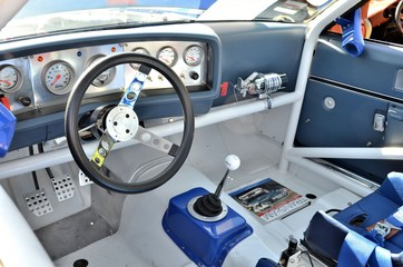 Race Car Cockpit