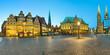 Bremen Marktplatz Panorama