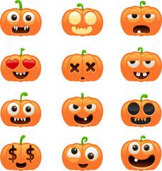 halloween pumpkin characters