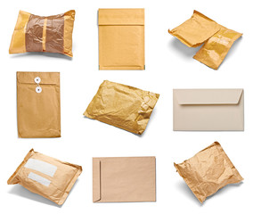 mail package envelope box used open postal