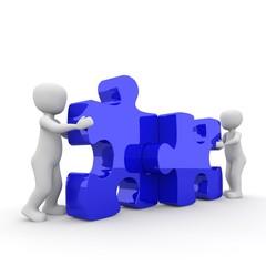 blue blue puzzle