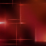 Red light mosaic background in vector