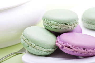 sweet French cookies - macaroon