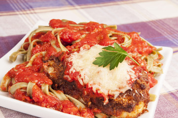 Chicken Parmigiana Parmesan