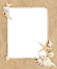 frame motif sea