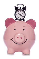 time is money piggy bank