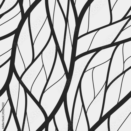 vector branch and leaf seamless wallpaper