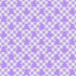 Light purple Gingham Fabric  with Teddy Bears Background