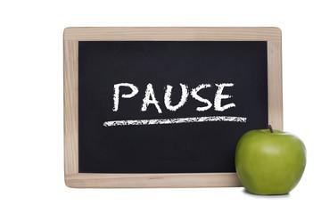 wichtig für die gesundheit: pause