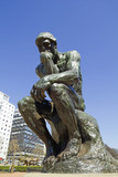 The Thinker by Rodin in Buenos Aires
