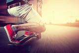 Fototapety Longboarder