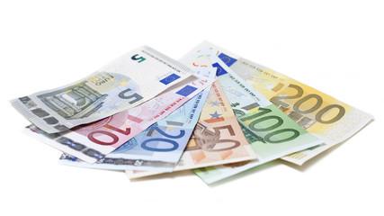 Geld, Euro, Money. Geldscheine