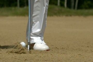 Golf Ultra Slow Motion Bunker Shot 10000 fps