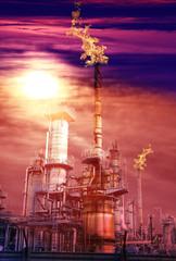industria faffinazione petrolio