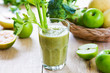 Apple with Celery and Broccoli smoothie