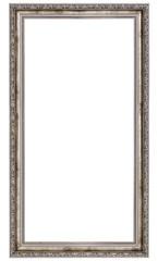 long silver frame