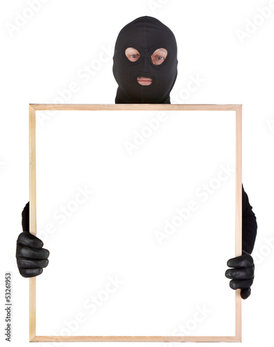 bandit with empty frame